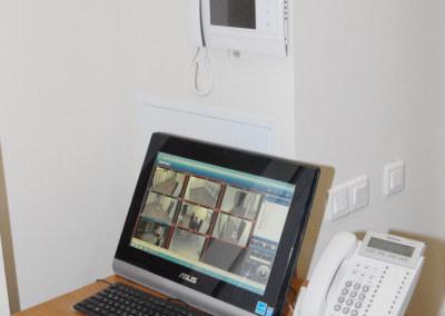 Пост управления системой видеонаблюдения